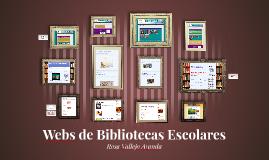 Webs de Bibliotecas Escolares