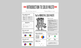 INTRODUCTION TO SOLID WASTE