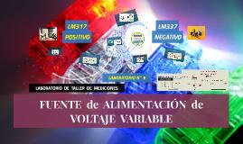 >> LABORATORIO N°9: FUENTE de ALIMENTACIÓN de VOLTAJE VARIABLE