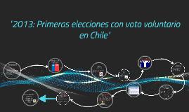 """""""Las predicciones que en Chile se hicieron en las primeras e"""
