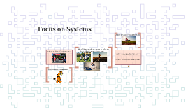 Focus on Systems