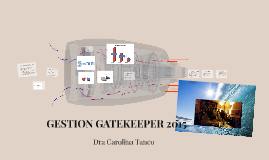 GESTION GATEKEEPER 2015