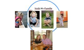 Voilà Ma Famille