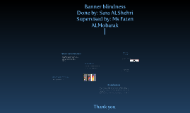 Copy of Banner bliedness