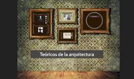 Teóricos de la arquitectura