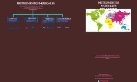 Copia de Instrumentos musicales