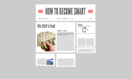 HOW TO BECOME SMART