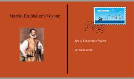Martin Frobisher's Voyage