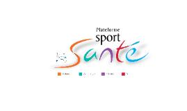 PLATEFORME SPORT SANTE