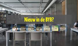 Nieuw in de BYB