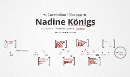 Copy of Timeline Prezumé von Nadine Königs