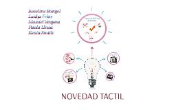 NOVEDAD TACTIL