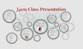 J4101 Class Presentation