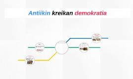 Antiikin kreikan demokratia