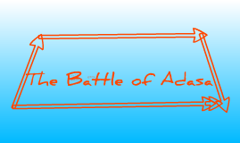 The Battle of Adasa
