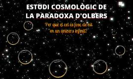 Estudi cosmològic de la Paradoxa d'Olbers