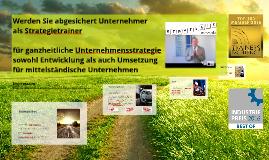 STRATEGIE kompakt-Lizenz: Werden Sie abgesichert Unternehmer - als Strategietrainer