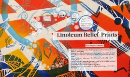 Copy of Linoleum Relief  Prints