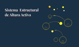 Sistema  Estructural de Altura Activa