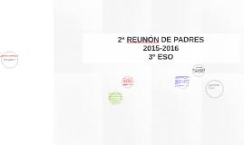 2ª REUNÓN DE PADRES