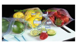 Método de conservación de alimentos