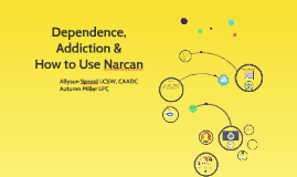 The Science of Opiate Use Disorder and Narcan