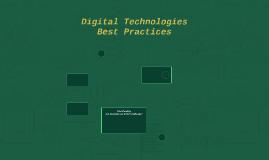 Digital Technologies Best Practices