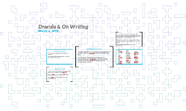 Dracula & On Writing