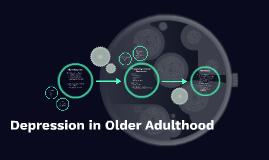 Depression in Older Adulthood