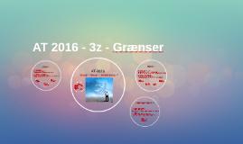 At 2016 - 3z - Grænser