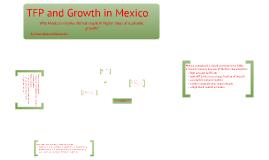 Copy of Mexico's TFP