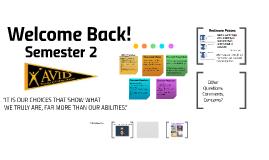 AVID 11 Semester 2: Welcome Back!