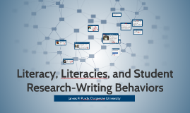 Literacy, Literacies, and Student Research-Writing Behaviors