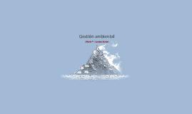 Copy of Gestión ambiental