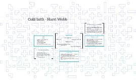 Colli Iaith - Harri Webb
