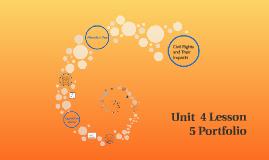 Unit 4 Lesson 5 Portfolio