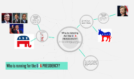 Who is running for the USA PRESIDENCY?