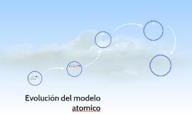 Evolución del modelo atomico