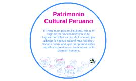 Copy of Patrimonio Cultural Peruano