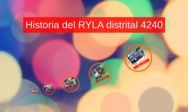 Historia del RYLA distrital 4240