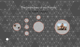 The branches of my Family