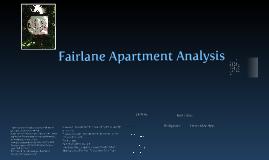 Fairlane Apartment Analysis Presentation
