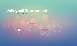 Copy of Volleyball Tournament