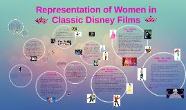 Copy of Representation of Women in Classic Disney Films