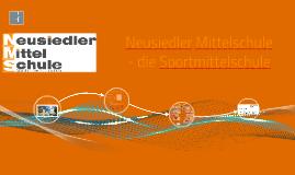 Neusiedler Mittelschule - die Sportmittelschule