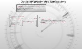 Outils de gestion des applications