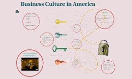 Business Culture in America