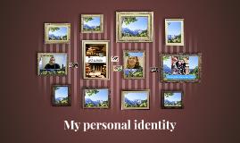 My personal identity