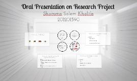 Copy of Oral Presentation