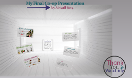 My Final Co-op Presentation